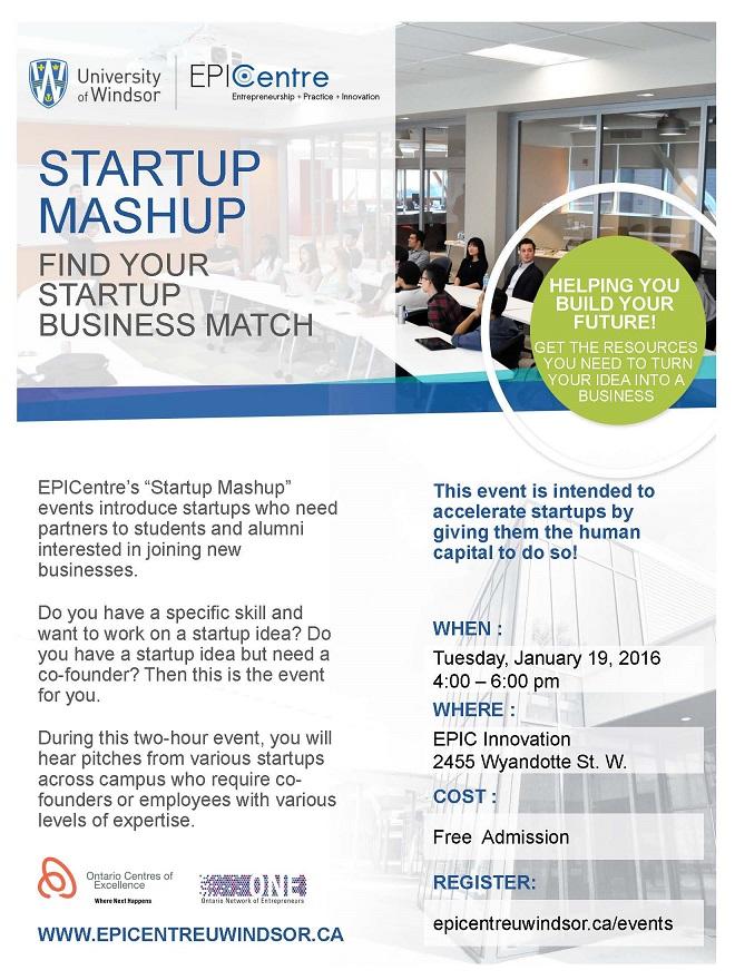 Startup Mashup Jan19