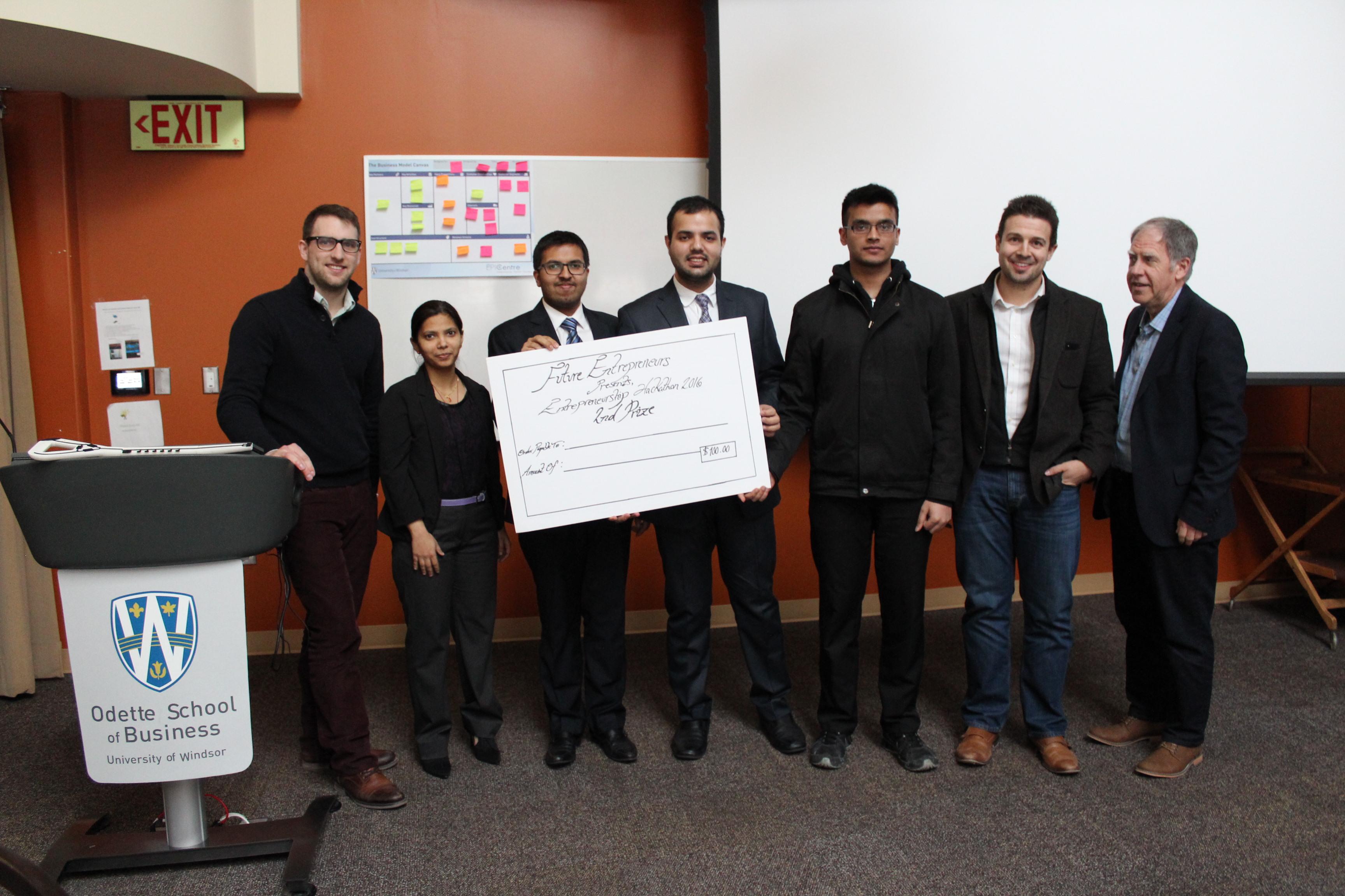 Entrepreneurship Hackathon Runner-Ups