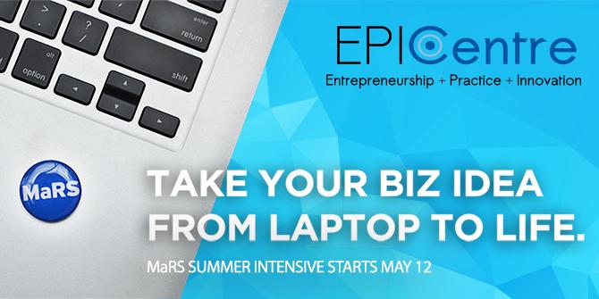 EPICentre MaRS Intensive Summer Program