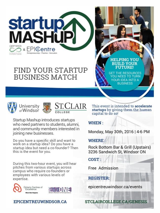 Startup Mashup May 30th