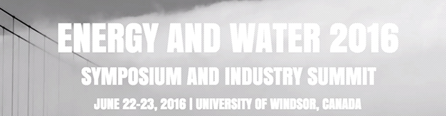 Energy and Water Symposium and Industry Summit 2016
