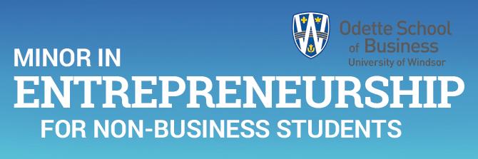 Minor in Entrepreneurship for Non-Business Majors
