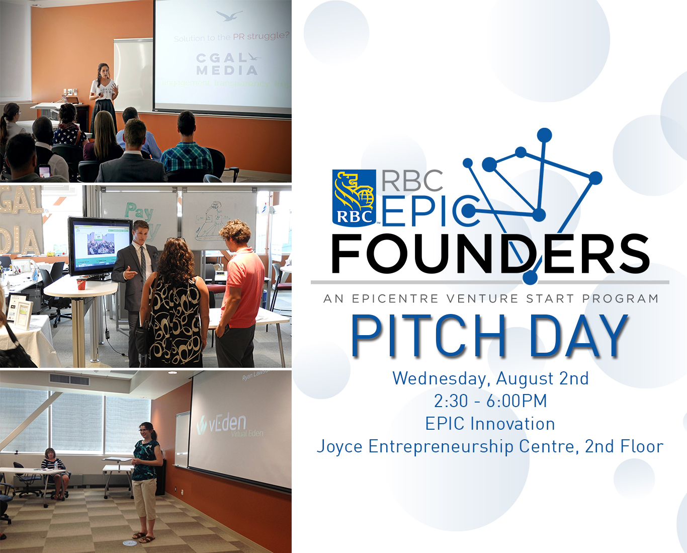 RBC EPIC Founders Pitch Day 2017