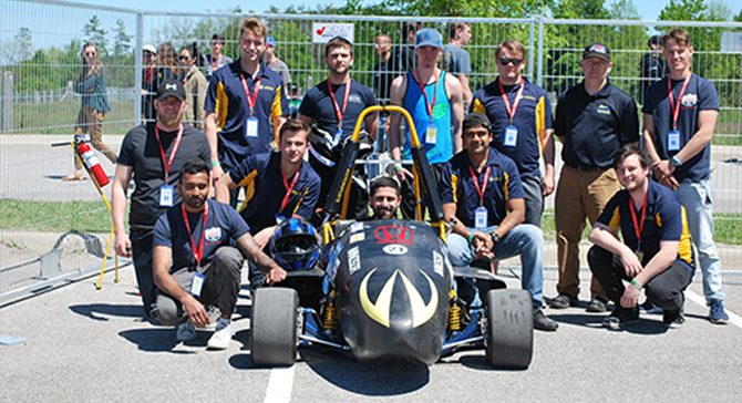Formula SAE Business Student Recruiting