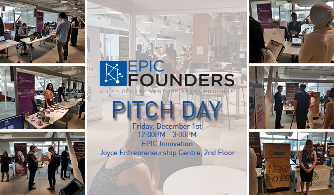 EPIC Fall Founders Pitch Day 2017