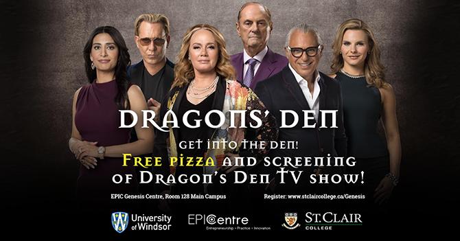 Dragon's Den Social