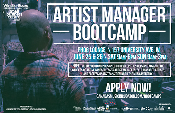 Artist Manager Bootcamp