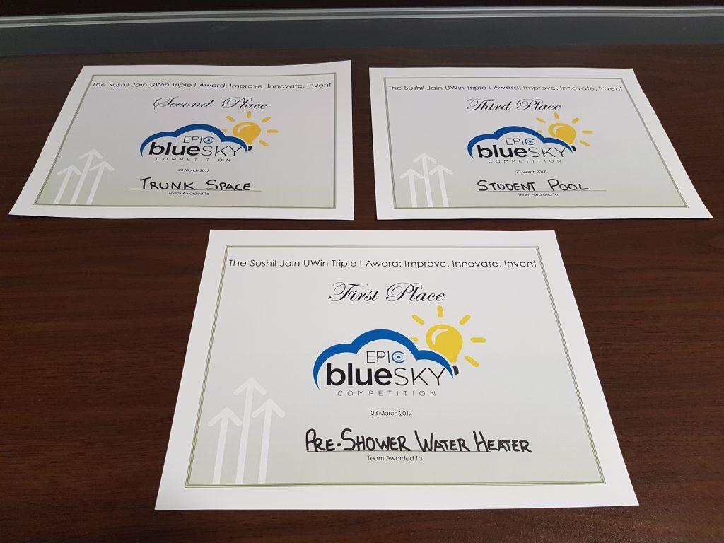 Blue Sky Certificates